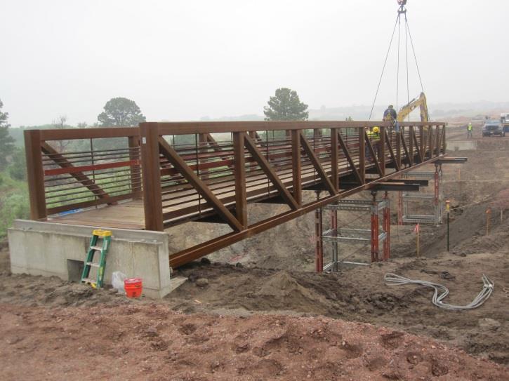 The Farm Pedestrian Bridge Tezak Heavy Equipment