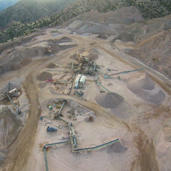 The Aggregate Source Quarries