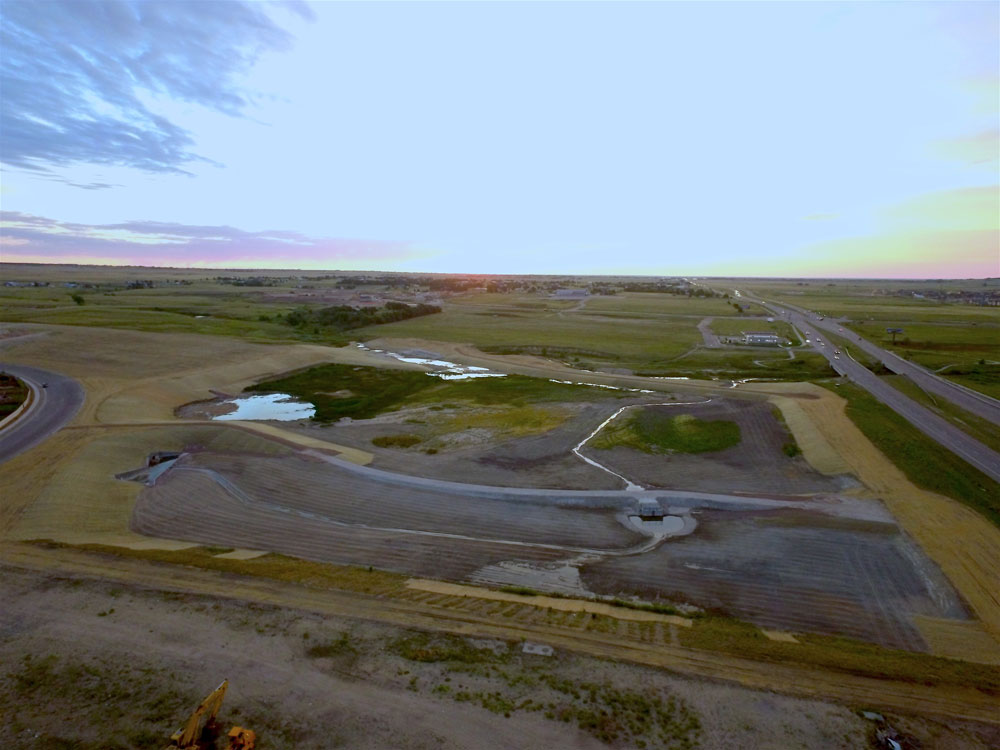 Sand Creek Detention Basin 3